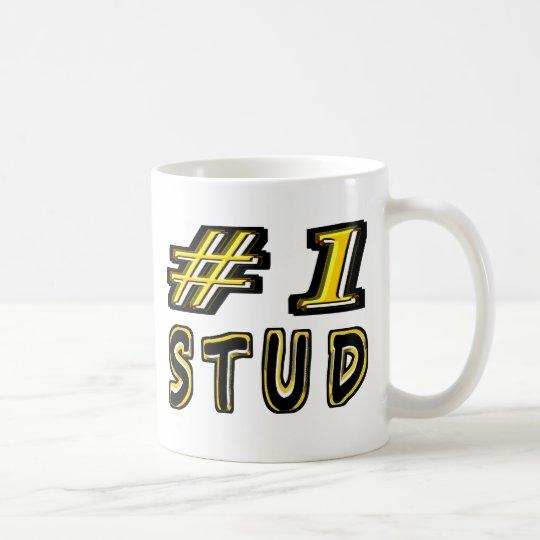 Number One Stud Coffee Mug
