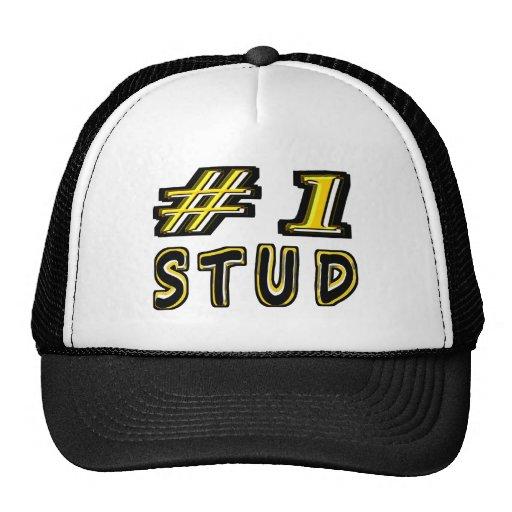 Number One Stud Trucker Hats