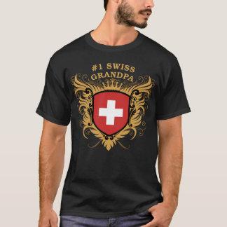 Number One Swiss Grandpa T-Shirt