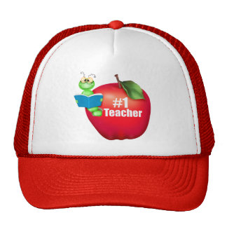 Number One Teacher Cap