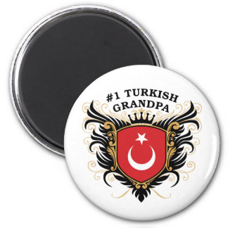 Number One Turkish Grandpa Magnet