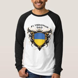Number One Ukrainian Dad T-Shirt