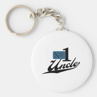 Number One Uncle Key Ring
