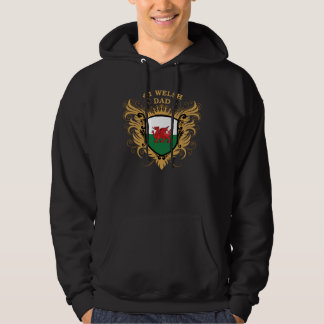 Number One Welsh Dad Hoodie
