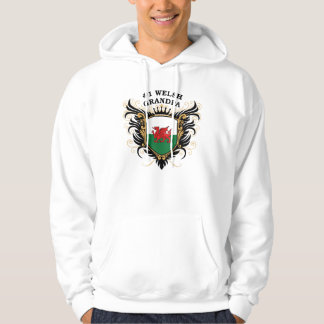 Number One Welsh Grandpa Hoodie
