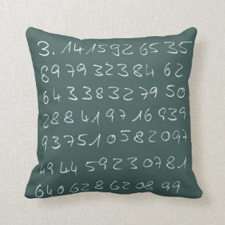 Number PI Cushion