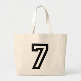 Number Seven Large Tote Bag