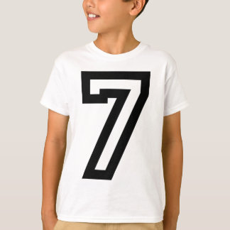 Number Seven T-Shirt