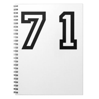 Number Seventy One Notebooks