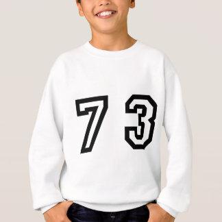 Number Seventy Three Sweatshirt
