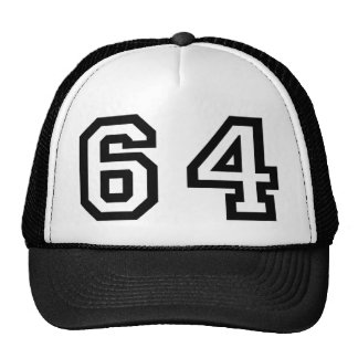 Number Sixty Four Cap
