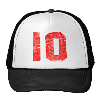 Number Ten 10th Birthday Gifts Cap