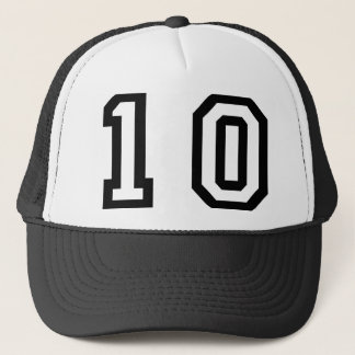 Number Ten Trucker Hat