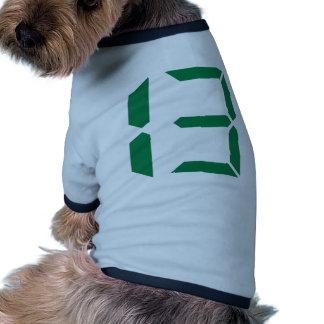 Number - Thirteen - 13 Pet Tee