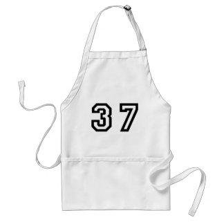 Number Thirty Seven Standard Apron