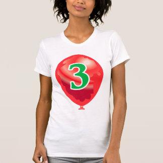 Number three globe T-Shirt
