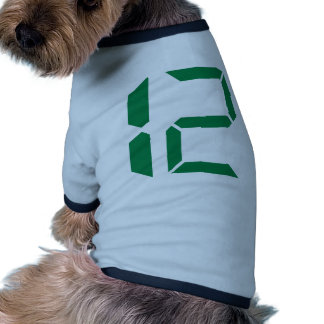 Number - Twelve - 12 Dog Clothes