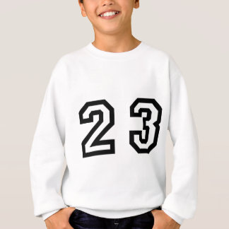 Number Twenty Three Sweatshirt