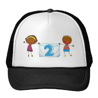 Number two trucker hat