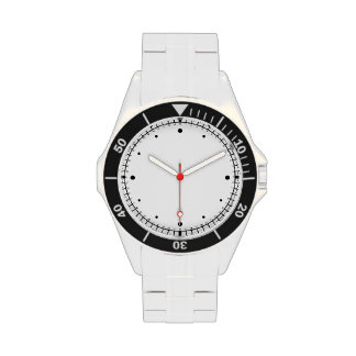 Numberless Face Watch with black dots