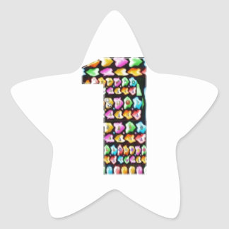 NumberONE  Decorative Artistic Star Stickers