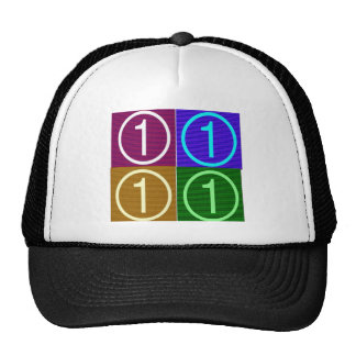 NumberONE FOUR ROUNDS Cap