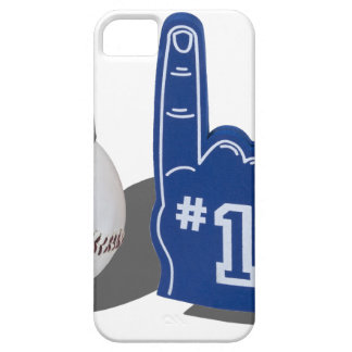 NumberOneBaseballBallHat082612 png iPhone 5 Case