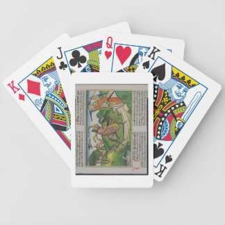 Numbers 22 20-35 Balaam's talking ass, from the 'N Poker Deck