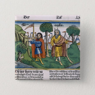 Numbers 2 The camp assignments of the Israelites, 15 Cm Square Badge