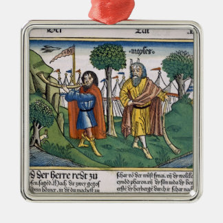 Numbers 2 The camp assignments of the Israelites, Christmas Ornament