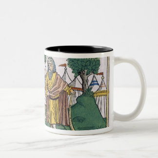 Numbers 2 The camp assignments of the Israelites, Two-Tone Coffee Mug