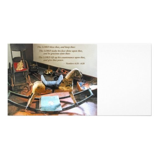 Numbers 6:24-26 The LORD bless thee, and keep thee Personalized Photo Card