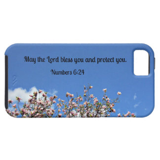Numbers 6:24 May the Lord bless you.... iPhone 5 Cover