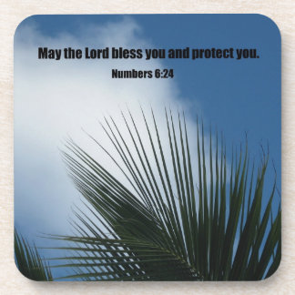 Numbers 6:24 May the Lord bless you.... Coaster