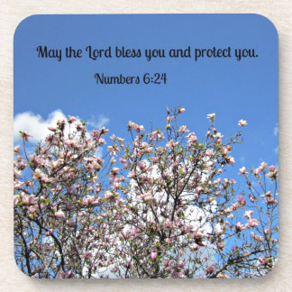 Numbers 6:24 May the Lord bless you.... Coasters