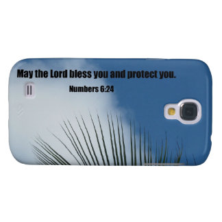 Numbers 6:24 May the Lord bless you.... Galaxy S4 Case