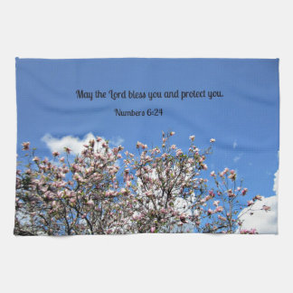 Numbers 6:24 May the Lord bless you.... Hand Towel