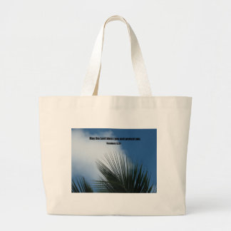 Numbers 6:24 May the Lord bless you.... Canvas Bags