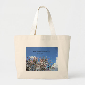 Numbers 6:24 May the Lord bless you.... Jumbo Tote Bag