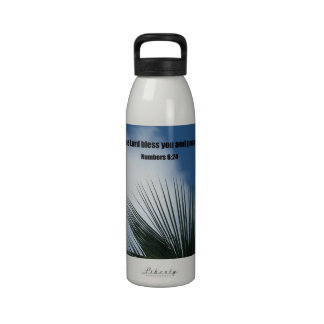 Numbers 6:24 May the Lord bless you.... Reusable Water Bottle