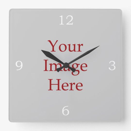 Numbers Create Your Own Wall Clocks