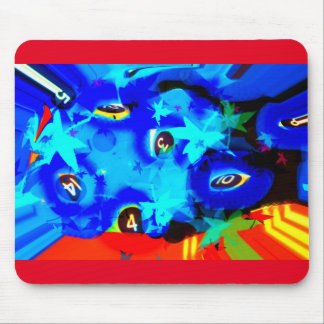 Numbers game mouse pad