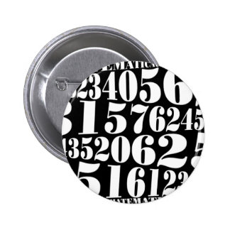 Numbers' gift pinback button