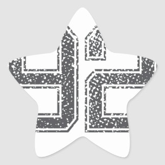 Numbers Gray_92.png Star Sticker