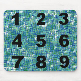 Numbers Mouse Pad