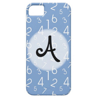 Numbers Pattern Barely There iPhone 5 Case