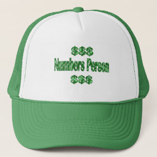 Numbers Person Trucker Hat