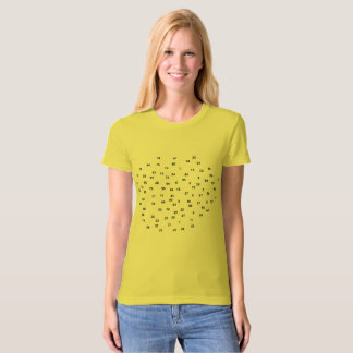 Numbers / Women's American Apparel Organic T-Shirt