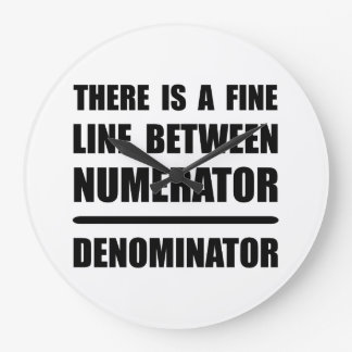 Numerator Denominator Wallclock