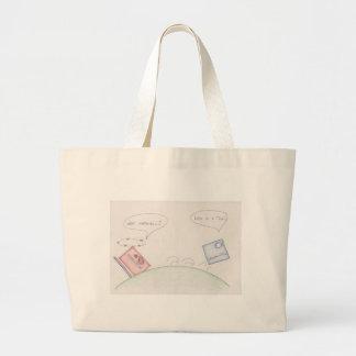Numerator Vs Denominator Canvas Bags